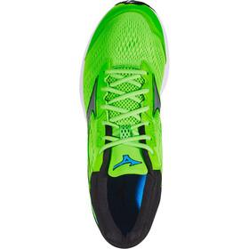 Mizuno Wave Rider 22 Zapatillas running Hombre, green gecko/silver/brilliant blue